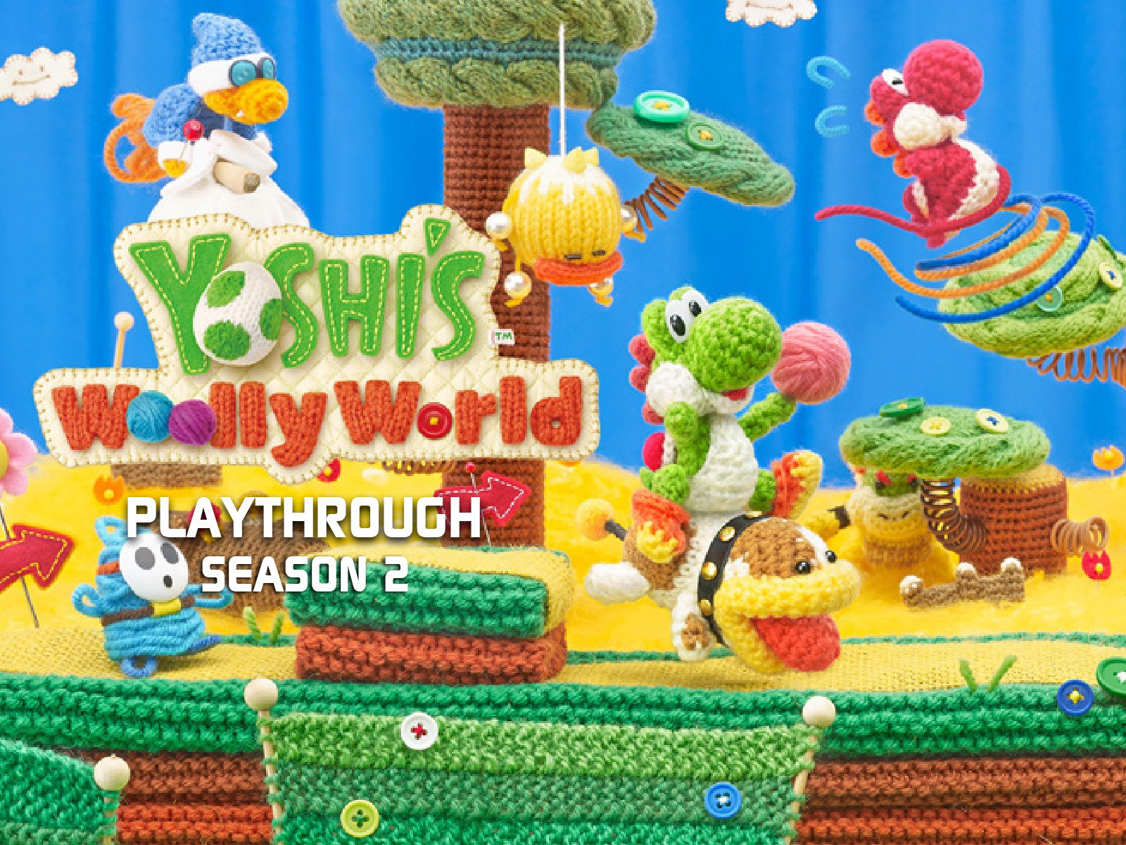 Clip: Yoshi's Wooly World Playthrough