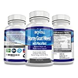 HORNY GOAT WEED with MACA ROOT - 60 Capsules - Libido Enhancer, Energy Boost, Sex Driver Enhancer, Testosterone Boost & Stamina - Performance and Desire