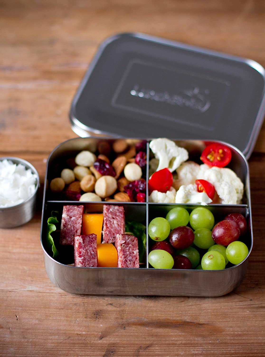 Bento Lunch Box Food Container School Picnic 4 Leakproof ...  |Bento Box Lunch Containers