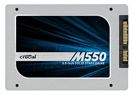 Crucial M550 128GB SATA 2 5 7mm with 9 5mm