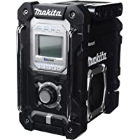 Makita DMR106B Jobsite Radio with Bluetooth and USB Charger (Black)