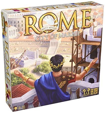 Rome- City of Marble Board Game