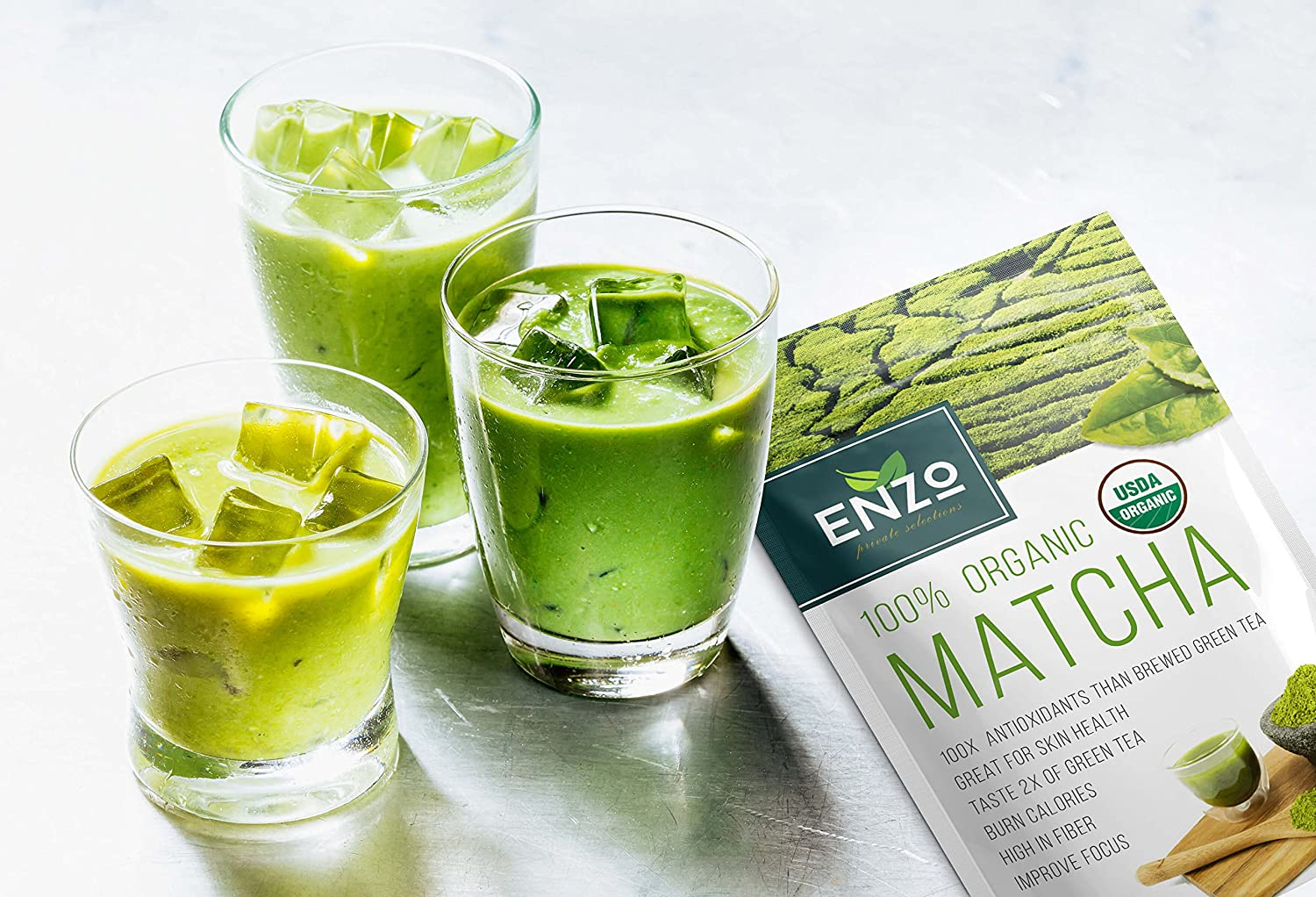 enzo matcha green tea