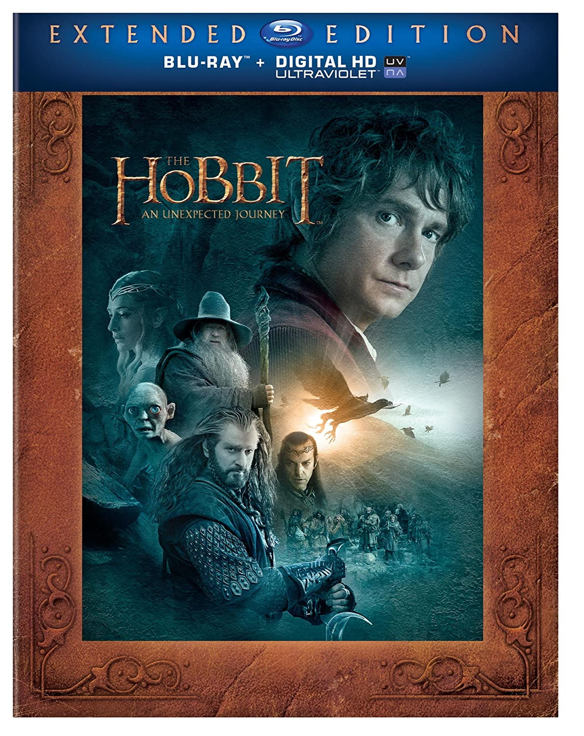 The Hobbit: An Unexpected Journey (Extended Edition) (Blu-ray + UltraViolet) (2013)