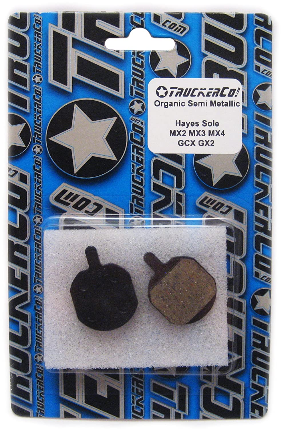 Organic Semi-Metallic Disc Brake Pads Cannondale Helix Bengal MB700