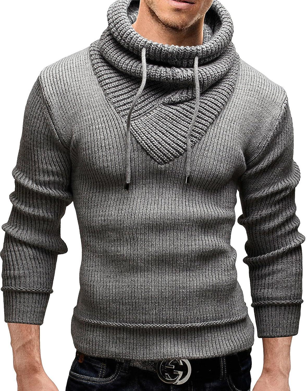 Grin&Bear Slim fit Pullover Grobstrick Strickjacke Herren