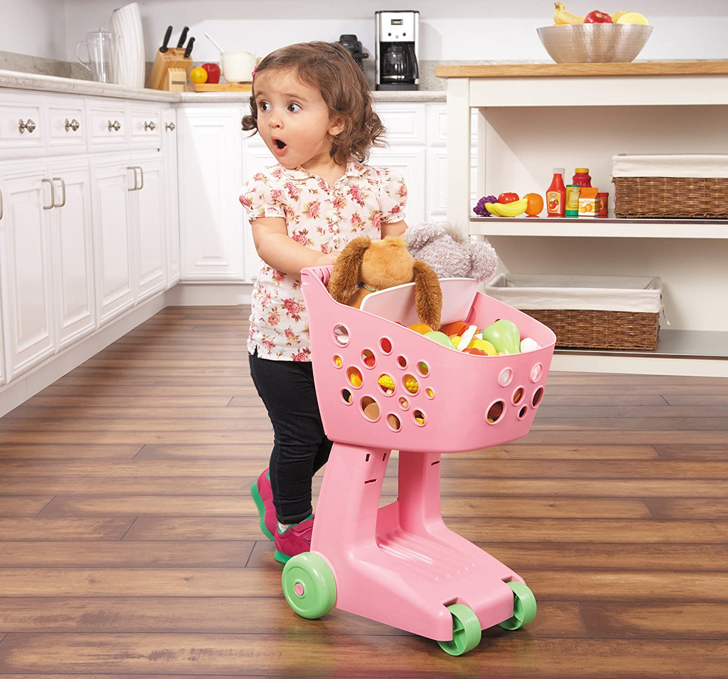 An Image of Little Tikes Lil' Shopper - Pink