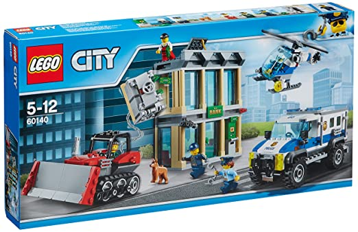 LEGO - 60140 - City - Jeu de construction  - Le Cambriolage de la Banque