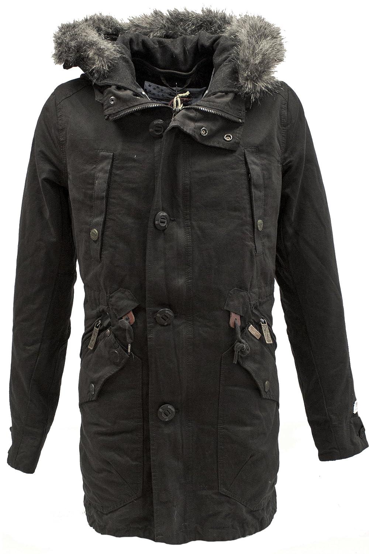 KHUJO Herren Long-Jacke Aldo mit Inner-Jacket bestellen