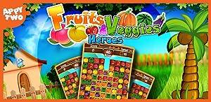 Go Crush Fruits & Veggies Heroes from Mausam