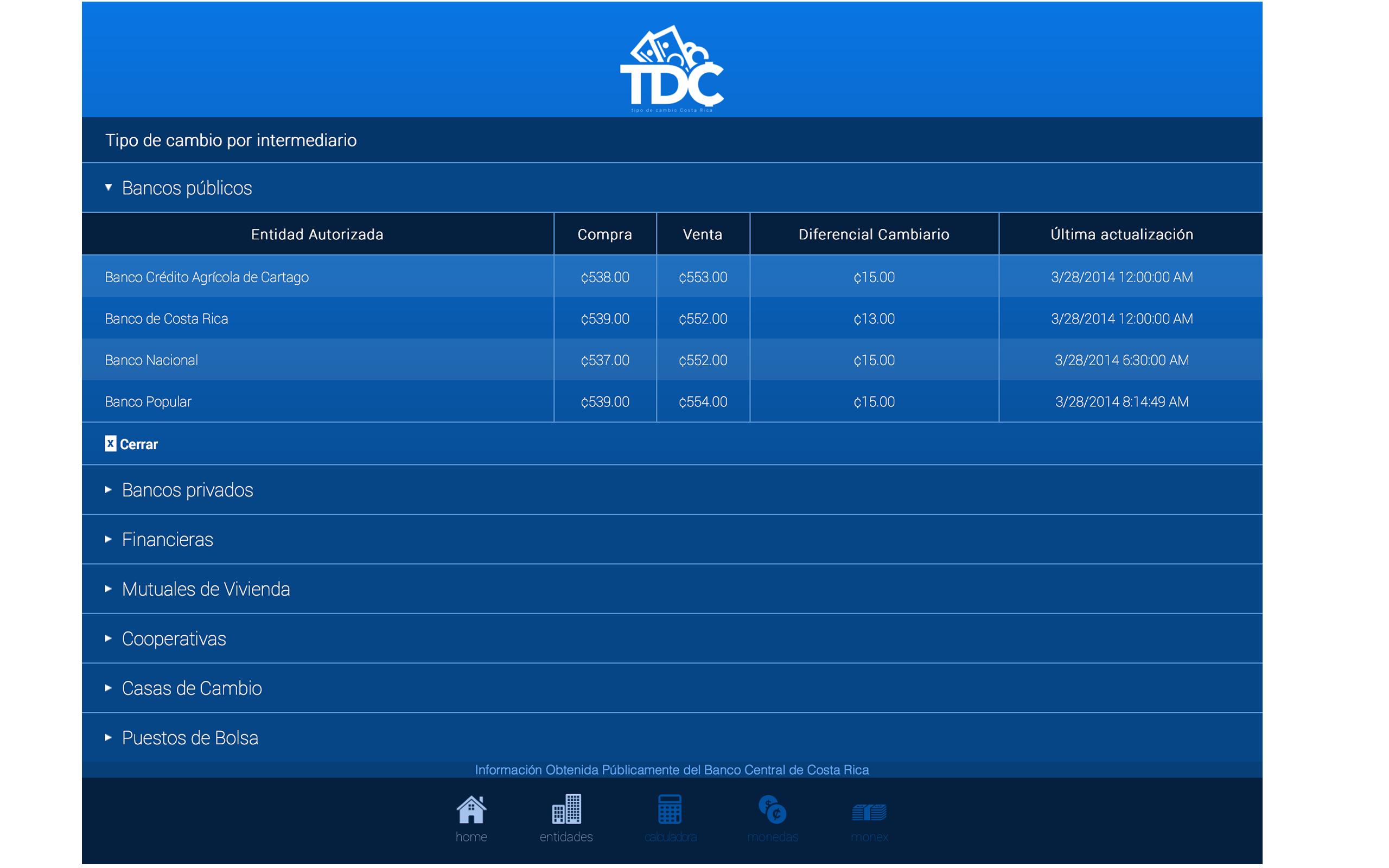 Amazon.com: Tipo de Cambio Costa Rica Lite: Appstore for Android