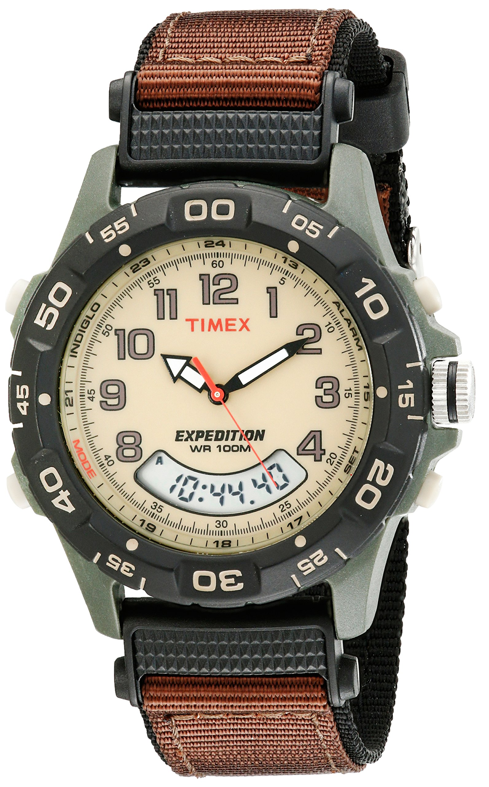 Shop Timex Men's T49900 Expedition Rugged Wide Digital CAT ... |Timex Expedition Digital Watches Men