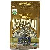 Lundberg Family Farms Organic Rice, Brown Basmati and Wild, 16 Ounce