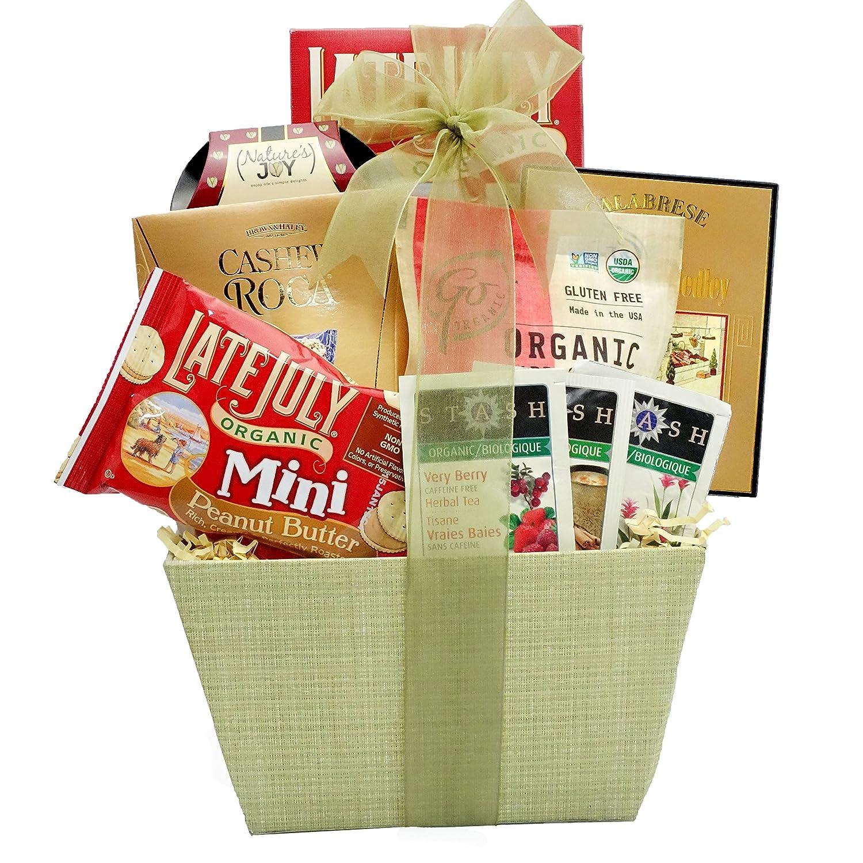 Organic and Natural Healthy Gift Basket – A Healthy Gift Basket