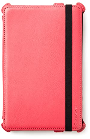 Kindle Fire Genuine Leather Cover by Marware, Pink (will not fit HD or HDX models) (Color: Pink, Tamaño: One Size)