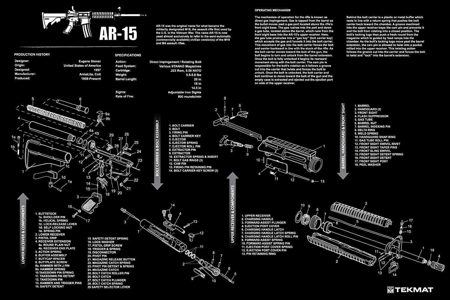 Ar 15 Trigger Diagram Ar Free Engine Image For User