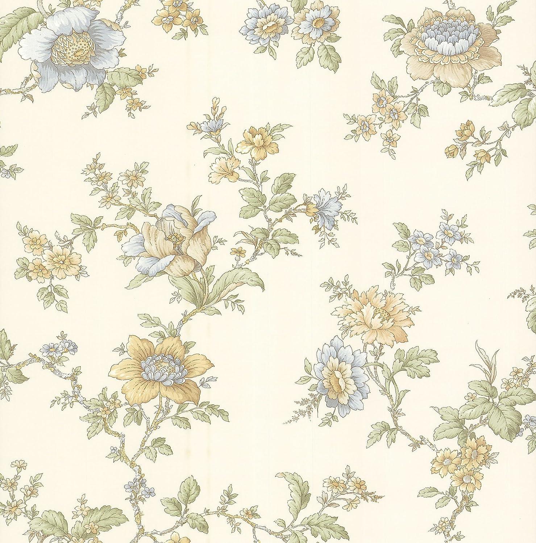 Madison Florals Jacobean Wallpaper