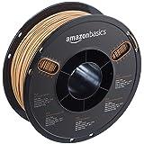 AmazonBasics PLA 3D Printer Filament, 1.75mm, Wood Color, 0.8 kg Spool (Color: Wood Color, Tamaño: 1.75mm)