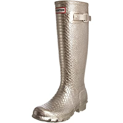 Hunter Women's Carnaby Boa Tall Metallic Wellington Boot