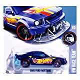 2017 Hot Wheels Super Treasure Hunt - HW Race Team 1/5 - 2005 Ford Mustang