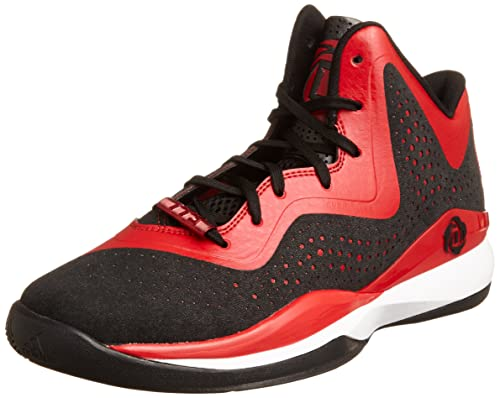 derrick rose shoes red - photo #33