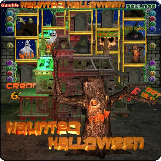 Haunted Halloween Slot Machine