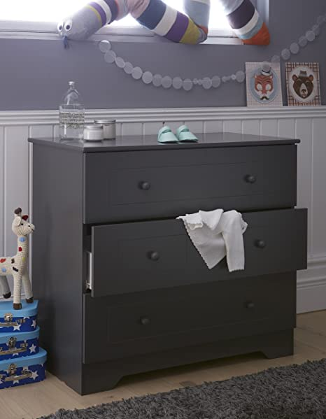 Alfred & Compagnie Baby's Chest of Drawers anthracite