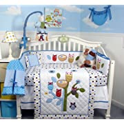 Laugh Giggle And Smile Spotty Owl Baby Bedding