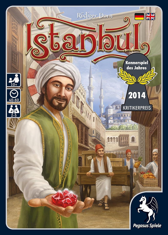 Pegasus Spiele 55115G - Istanbul - Kennerspiel