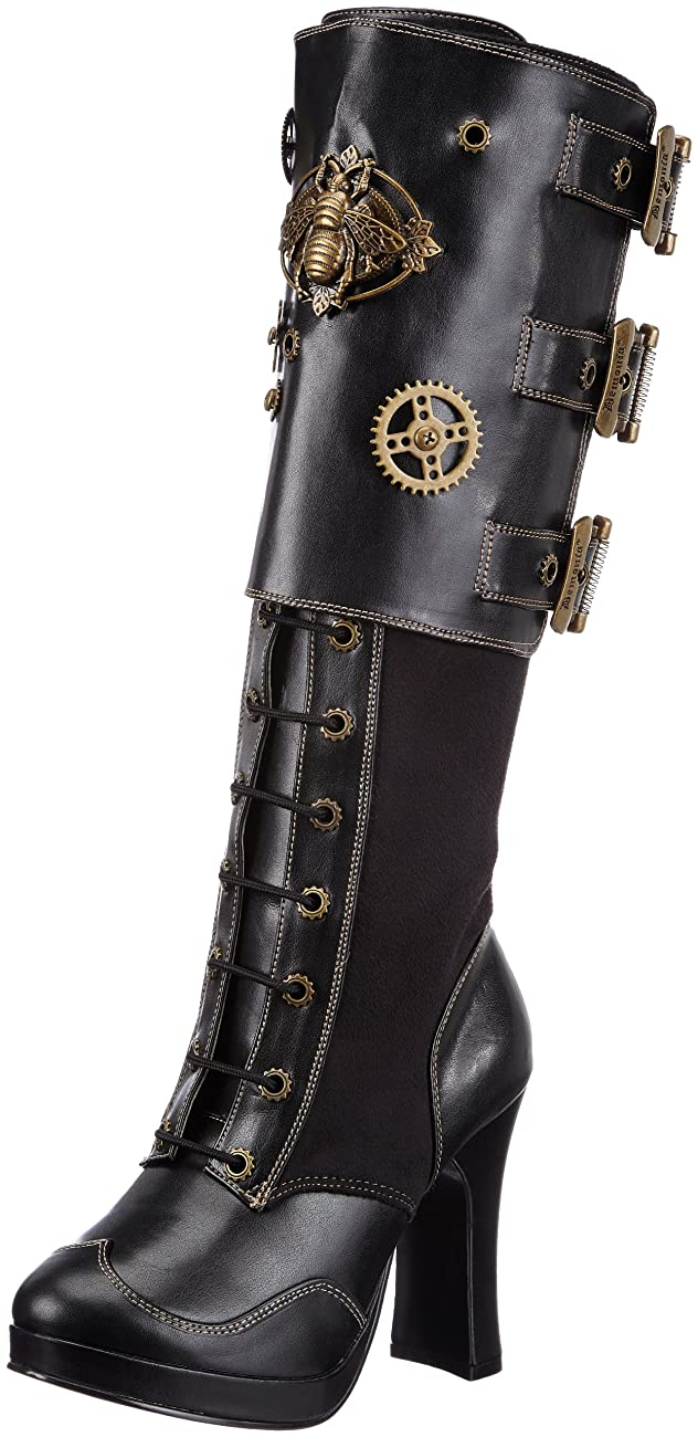 Pleaser Women's Crypto-302 Knee-High Boot 0