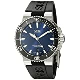 Oris Men's 'Aquis' Swiss Automatic Stainless Steel Diving Watch (Model: 73376534135RS)