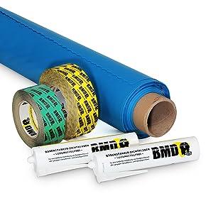BMD 50m² Dampfbremssystempaket  BaumarktKritiken und weitere Informationen