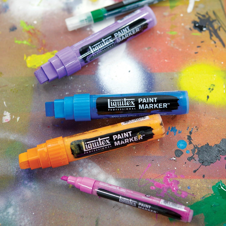 Liquitex 6-Piece Professional Paint Wide Marker Set