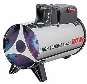 Rowi Gas Heizgebläse 10,7 kW, HGH 10700/2 Inox 1 03 02 0032  BaumarktÜberprüfung und Beschreibung
