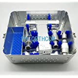 3 IN 1 Empty Box for Multi-functional Drills and Saws Set Orthopedic Instruments Container