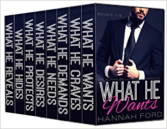 What He Wants: Box Set Volumes 1-8 written by Hannah Ford