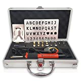 Wood Burning Kit | Fully Adjustable Temperature | 27 Tips with Cutting Blade | Deluxe Case | Soldering Iron Embossing Leather Work | Make a Special Gift for Friends | Variable Temp | Woodland Home