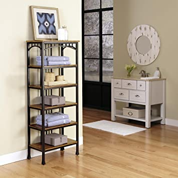 Modern Craftsman Six Tier Shelf
