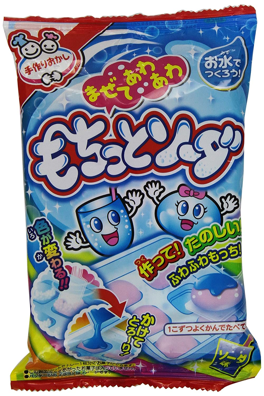 "Soda Fizz Candy Shaped Candy""mochitto Soda"