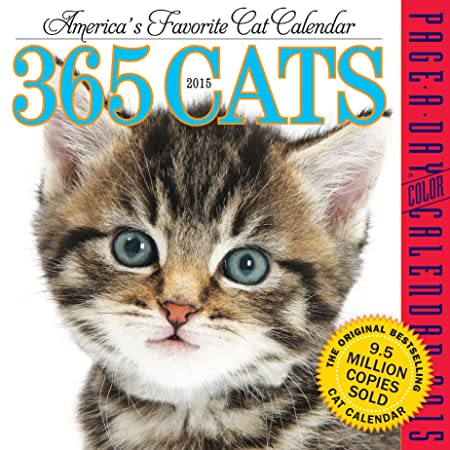 365 Cats 2015 Page-A-Day Calendar