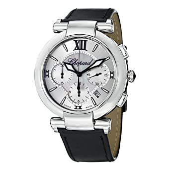 Chopard Imperiale Men's Black Leather Strap Automatic Chronograph Watch 388549-3001 ST1