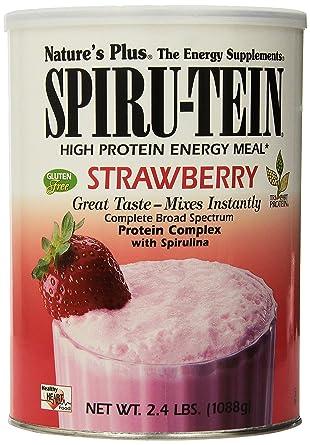 Spirutein vegetarischer Mahlzeitersatz, Erdbeergeschmack 1088g (32 Portionen)