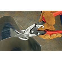 Wiss M6R MetalMaster 1-1/4-Inch Cut Capacity 9-1/4-Inch Left and Straight Cut Offset Snip
