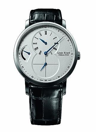 Louis Erard Men's 54230AA01.BDC29 Excellence Automatic Black Crocodile Leather Watch
