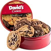 Oversized Decadent 2lb Tin Cookies in Assorted Flavors
