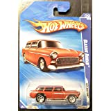 Hot Wheels 2010 Classic Nomad RED 167/240 Hot Auction 9/10