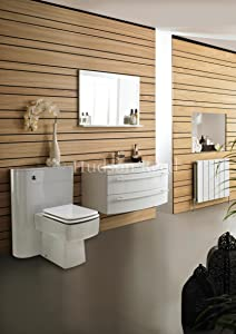 Vanguard Basin and Cabinet in White       Customer review and more information