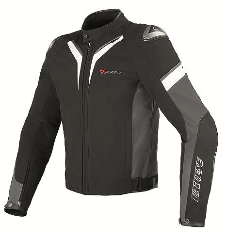 Dainese 1735132 aspide tex veste-noir/blanc/gris foncé