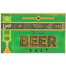 Twang Beer Salt, Lime, 1.4-Ounce Bottles (Pack of 24)