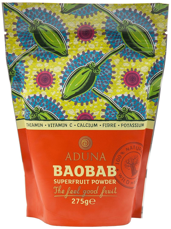 非加熱 バオバブスーパーフルーツパウダー (Baobab Fruit Pulp Powder) 275g